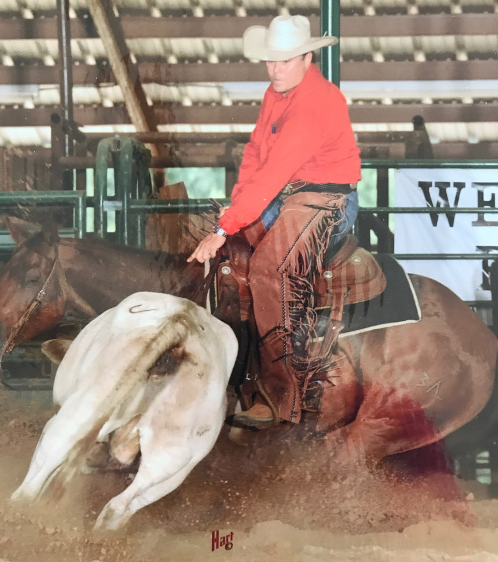 Reagan Lancaster Ranch Cutting Horse Show